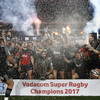 Crusaders hold off 14-man Lions to win first Super Rugby title since 2008