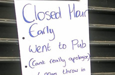 This Tyrone barber's explanation for closing early is the definition of 'sorry, not sorry'