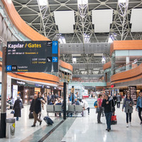 Five hospitalised at Istanbul airport after knife brawl between employees of rival coach companies