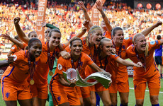 Four-goal Netherlands win women's Euro for first time after thrilling final