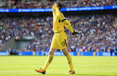 'Courtois one of the best penalty takers': Conte defends wild miss