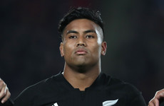 Julian Savea dropped by All Blacks for Rugby Championship