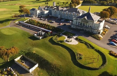 A couple subjected to 'wayward golf balls' is fighting Glenlo Abbey Hotel's makeover