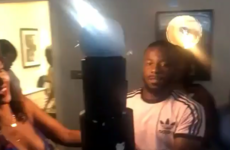 Stormzy's girlfriend dropped his surprise birthday cake and absolutely destroyed it