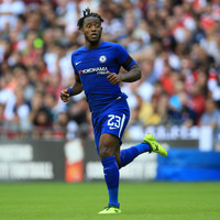 Chelsea's Batshuayi denies laughing at team-mate's penalty miss
