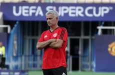 Man United chasing silverware against 'the best team in the world' in tonight's Super Cup