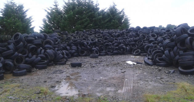 'A blight on the countryside': Minister pledges money to clean up thousands of tyres dumped around Ireland
