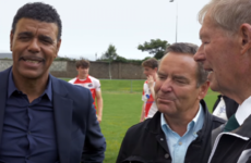 'Micheál Ó Mother what?' - Stelling and Kammy meet broadcasting icon
