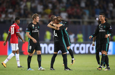 Real Madrid hold off United comeback to lift Uefa Super Cup