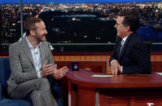 Chris O'Dowd made a sneaky Roscommon GAA joke on the Late Show with Stephen Colbert yesterday