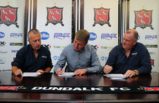 Huge boost for Dundalk as Stephen Kenny puts pen to paper on a new deal