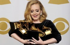 Adele and Foo Fighters win big at the Grammy Awards