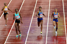 Harrowing end to the women's 400m final as Shaunae Miller-Uibo dramatically pulls up