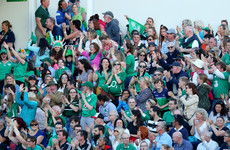 Dramatic finish to Ireland's opening World Cup win over Australia draws over 320,000 viewers