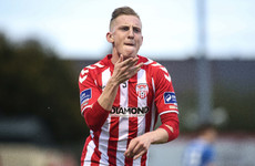 Derry City striker flies to Sweden to agree personal terms as exit nears