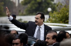 Pakistani Prime Minister charged with contempt