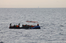 At least 56 people die after human traffickers force 300 off boats and into the sea
