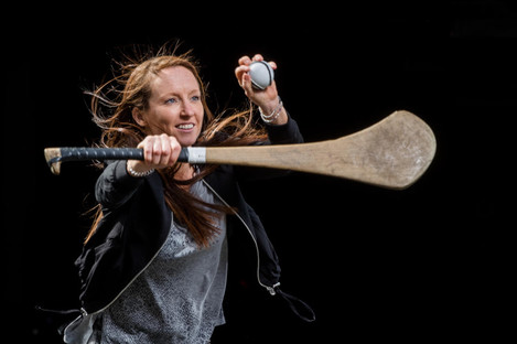 Dublin's Síle Nic Coitir gears up for the Liberty Insurance All-Ireland Senior Camogie Championship semi-final against Kilkenny on 19 August.