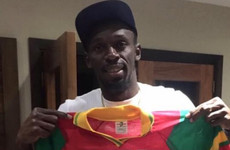 The story of how this Irish physio got Usain Bolt to pose with a Carlow GAA jersey