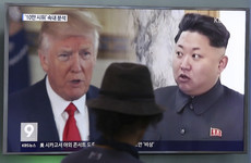 Trump says that a military plan to deal with North Korea is 'locked and loaded'