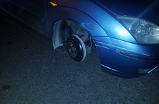 Gardaí arrest drunk driver who had no tax, insurance, NCT or front wheels
