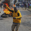 Two shot dead in protests over disputed Kenyan election