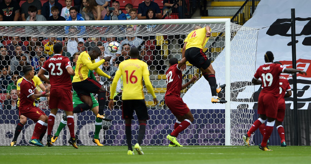 Liverpool concede from the first corner of the new Premier League season