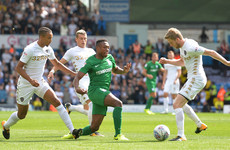 Six Irish players involved between both teams as Preston frustrate Leeds at Elland Road
