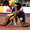 Organisers to blame for Bolt's collapse, say team-mates