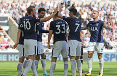 Classy Tottenham put 10-man Newcastle to the sword