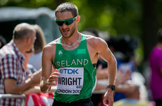 Ireland's Alex Wright disqualified at World Championships
