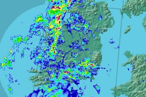 Rain will move in from the Atlantic, bring unsettled weather all week