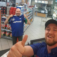 This lovely story of two Everton fans in an Athlone Supermac's is going viral