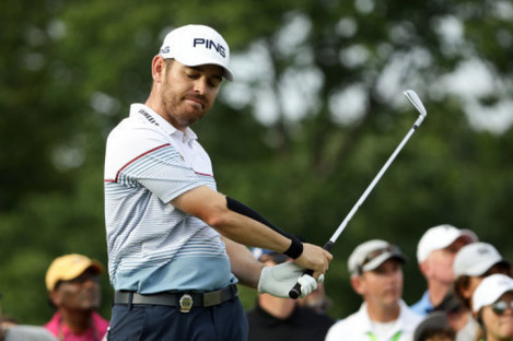 Oosthuizen went close yet again.