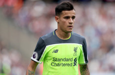 Wantaway Coutinho left out of Liverpool's Champions League squad