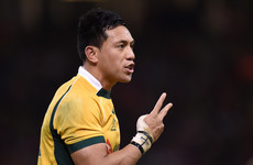 Ulster look to bring in Australia out-half Lealiifano before new Pro14 season