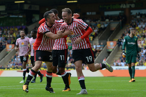 McGeady was on the scoresheet as Sunderland beat Norwich 3-1 at the weekend.