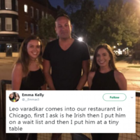 An Irish girl on a J1 served Leo Varadkar while working in a restaurant in Chicago and didn't recognize him