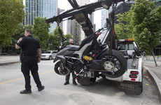 Stuntwoman killed in motorbike accident on set of Deadpool 2