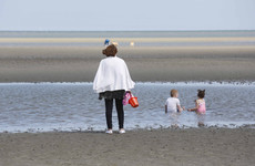 Swimming ban at Sandymount Strand due to possible pollution