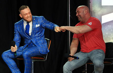 Switch to lighter gloves will tip the fight in McGregor's favour - Dana White
