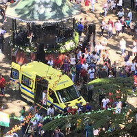 'It happened in the middle of mass': 12 killed and 50 injured by falling tree at religious Portuguese festival