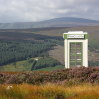 The Wind Phone art project in the Dublin Mountains has been destroyed