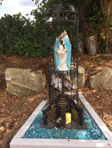 'I'm disgusted, horrified': Vandals damage memorial to Carrickmines fire victims