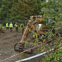 'It's a huge undertaking': Work at Trevor Deely search site expected to last for weeks