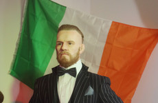 A Conor McGregor sculpture has been unveiled at the National Waxwork Museum in Dublin