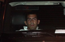 I'm home! Tevez back in Manchester.. after taking another swipe at Mancini