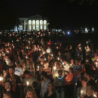 Thousands hold vigil for Charlottesville victim as Trump pays tribute to 'truly special young woman'