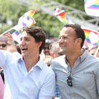 Varadkar marches in Montreal Pride Parade alongside Justin Trudeau