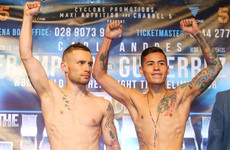 Gutierrez fight cancelled but Cyclone make no reference to reported Frampton split